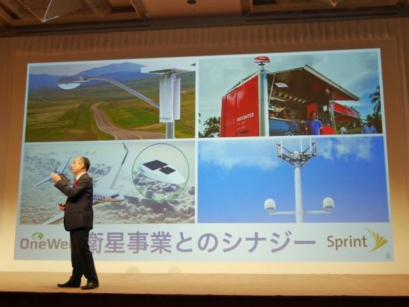 衛星通信事業とのシナジー