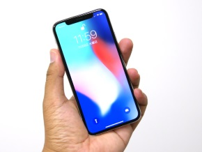 iPhone X(正面)