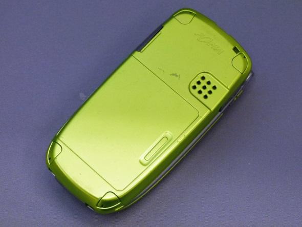 「F900i」(閉じた背面)