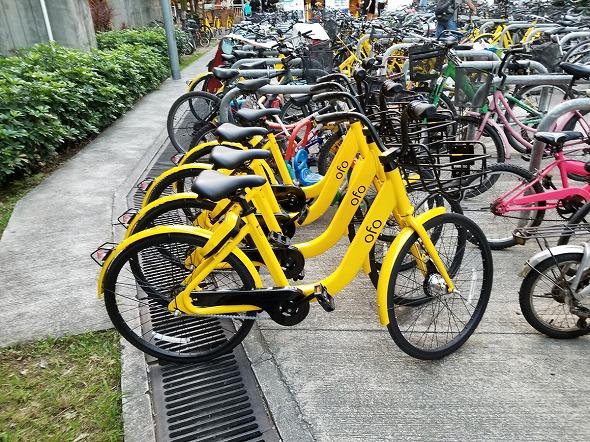 香港シェアサイクル