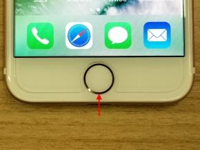 その他のiPhoneはホームボタンを3回クリック