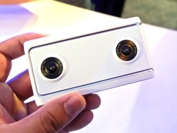 Lenovo Mirage Camera with Daydream(正面)