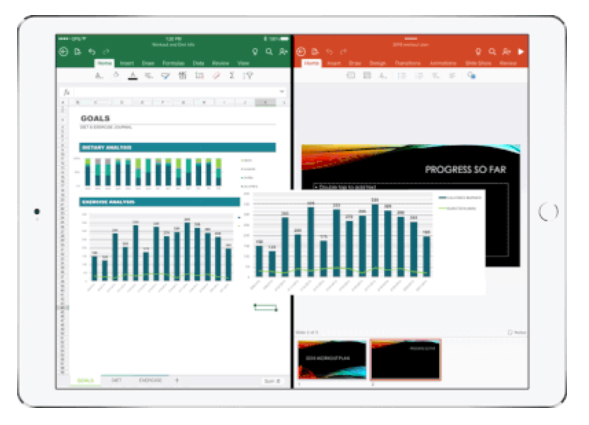 iOS版「Microsoft Office」と「OneDrive」にアプリ間ドラッグ
