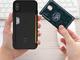 最大3枚のカードを収納できるiPhone X向け耐衝撃ケース「Level Wallet Case」