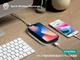 イタリア製本革のワイヤレス充電器「EWCP01」、UNiCASEで先行発売