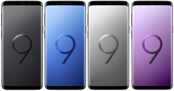 Galaxy S9(正面)