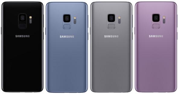 Galaxy S9(背面)