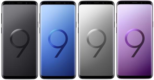 Galaxy S9+(正面)