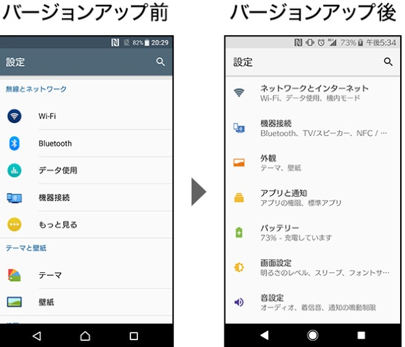 方法 アンドロイド バージョン アップ Android のバージョンを確認して更新する