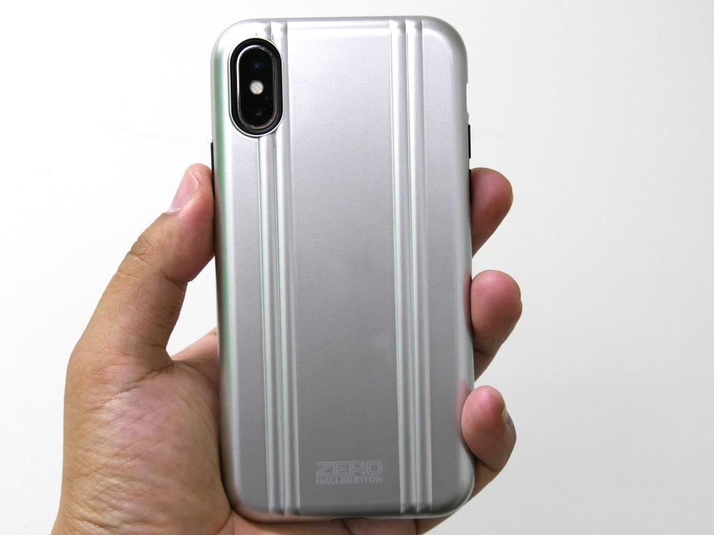 タフネスなハイブリッドケースに――iPhone X用ゼロハリケース「ZERO HALLIBURTON