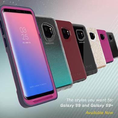 b38ec360a1 OtterBox、Galaxy S9/Galaxy S9+用ケースや強化ガラスを発売 - ITmedia ...
