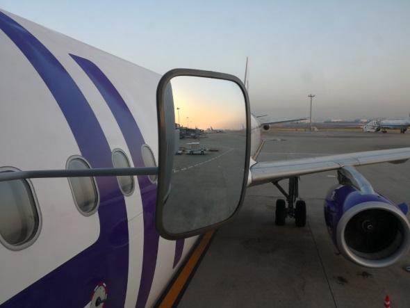 空路で香港入り