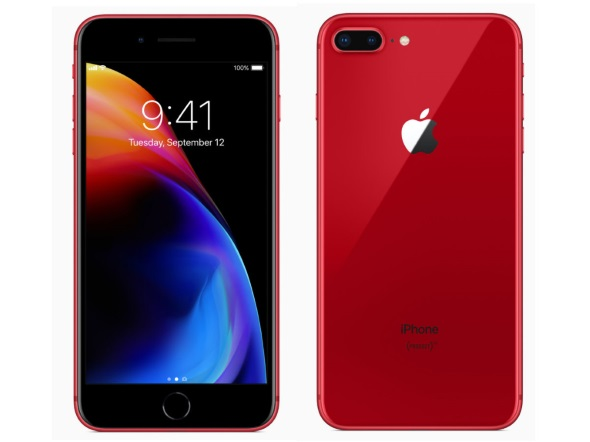iPhone 8 Plusの(PRODUCT)RED