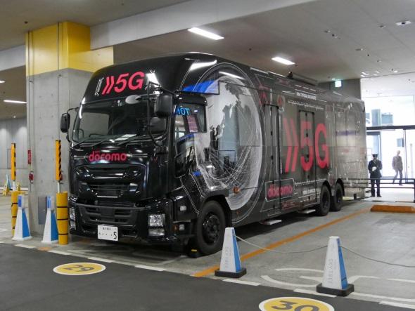 5Gデモバスの実車