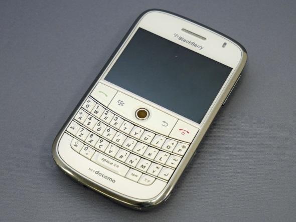 「BlackBerry Bold 9000」(正面)