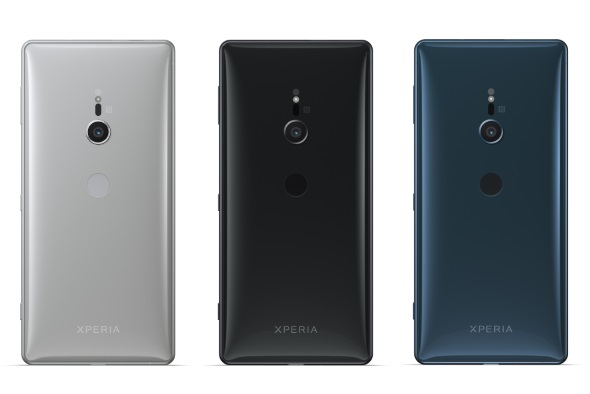 Xperia XZ2(ソフトバンク版:背面)