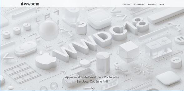 WWDCのWebサイト