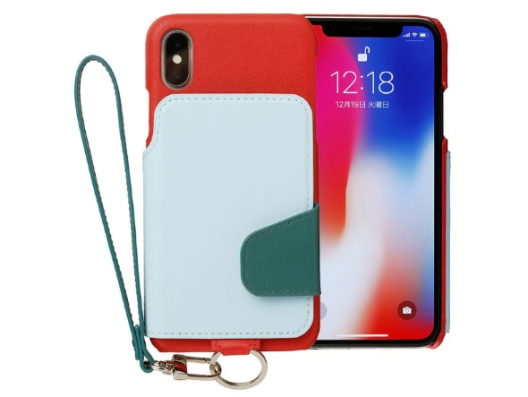 RAKUNI Real Leather Case for iPhone X