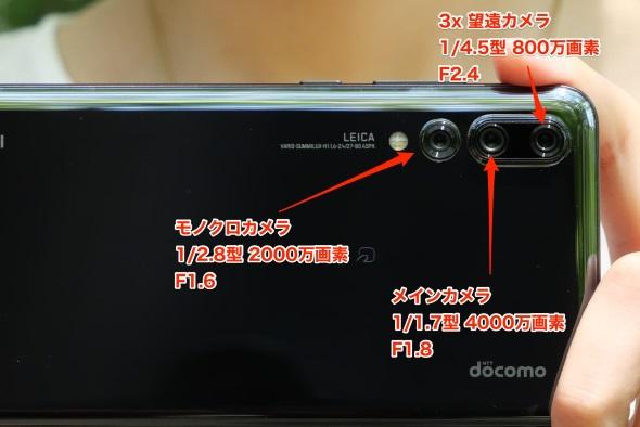 アウトカメラの構成