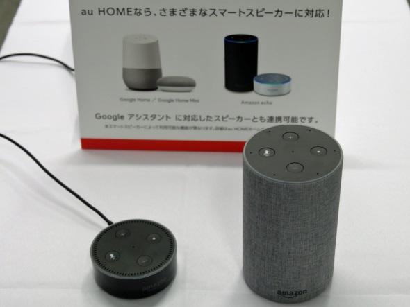 Amazon Echoにも対応