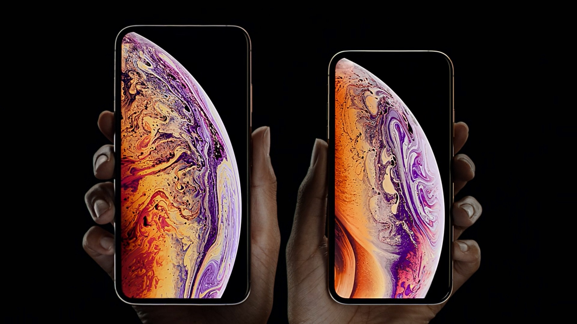 iphone xs iphone xs max 5 8 6 5 hdr itmedia mobile. Black Bedroom Furniture Sets. Home Design Ideas
