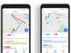 モバイル版「Googleマップ」にリアルタイムの交通情報を1タップで確認できる「通勤」タブ