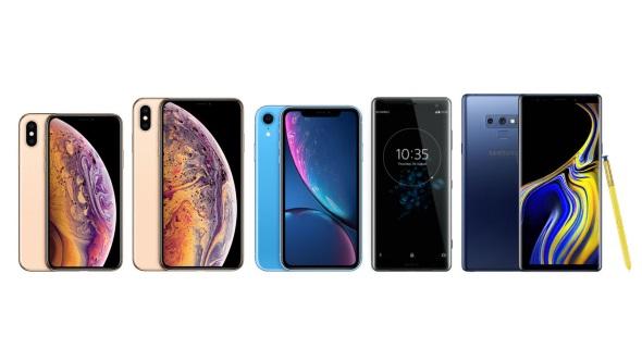 新iPhoneと新Androidスマホ