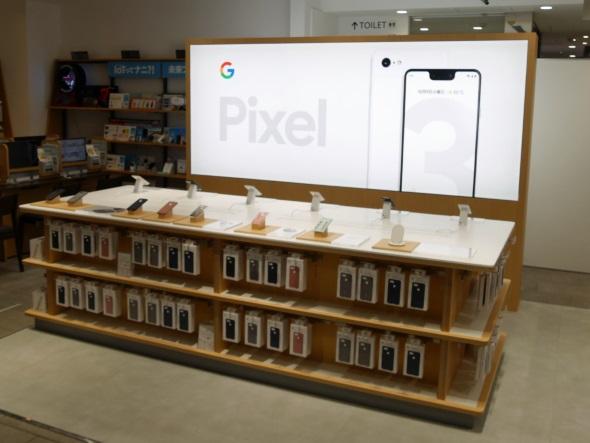 Pixelコーナー