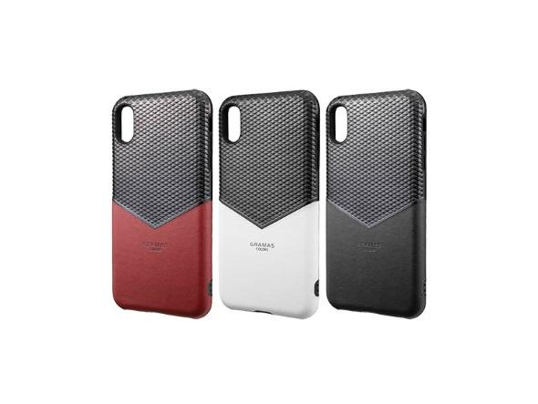 """Edge"" Hybrid Shell Case(iPhone XS/X用)"