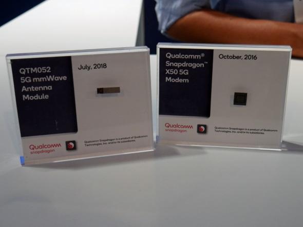 Snapdragon X50とQTM052