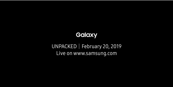Galaxy Unpacked 2019