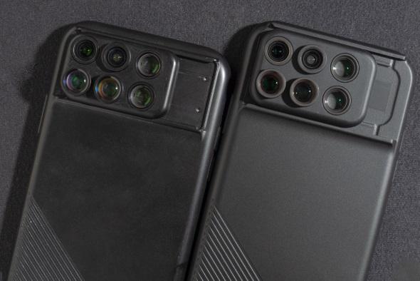 左がiPhone X用、右がiPhone XS用