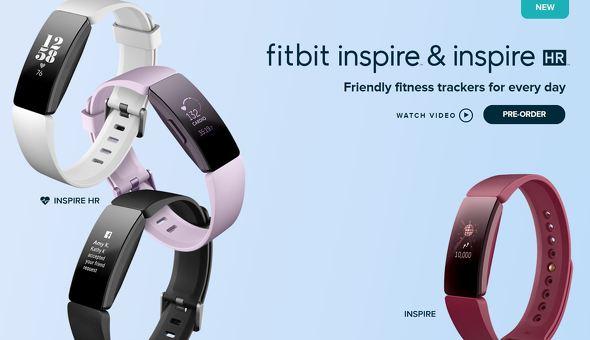 「Fitbit Inspire」