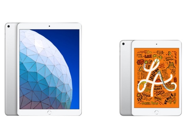 iPad AirとiPad mini