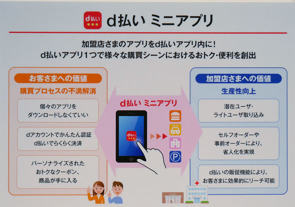 払い アプリ d