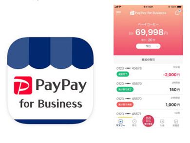 加盟店向け決済管理ツール「PayPay for Business」