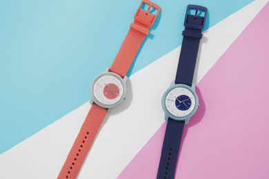 SoftBank SELECTIONがデザイン監修したWithingsのアナログスマートウォッチ「Withings Move」
