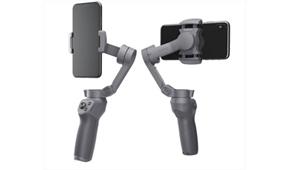 DJIの折りたたみ式スマートフォン用スタビライザー「OSMO MOBILE 3」