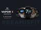 Misfit、「Snapdragon Wear 3100」搭載でわずか43gのスマートウォッチ「Vapor X」を280ドルで発売
