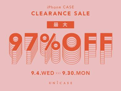 UNiCASEが最大97%オフのiPhoneケースクリアランスセールを開催