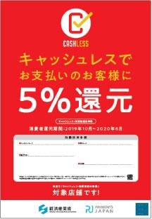 「PayPay」キャンペーンの5%還元対象店舗
