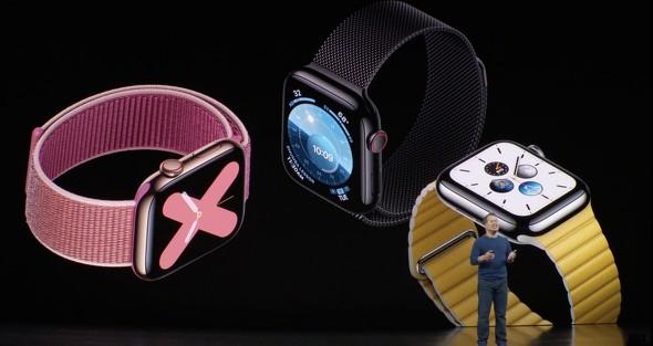 「Apple Watch Series 5」シリーズ