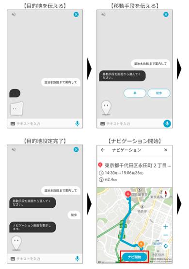 NTTドコモのAIエージェントサービス「my daiz」の対話画面