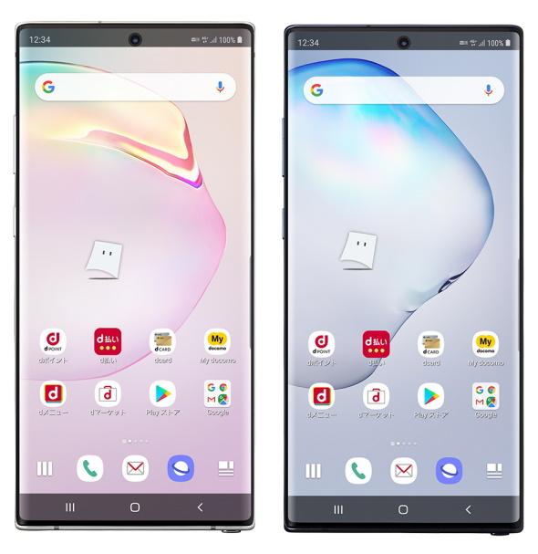 Galaxy Note10+ SC-01M(正面)