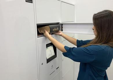 ブックオフコーポレーションの「宅配ボックス買取サービス」利用イメージ