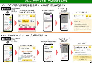 「マイナポータル」がiPhone 7(iOS 13.1)以降でも利用可能に