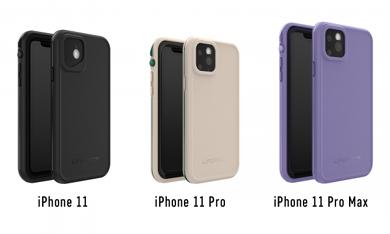 防水ケース「LIFEPROOF FRE」にiPhone 11/11 Pro/11 Pro Max用が登場