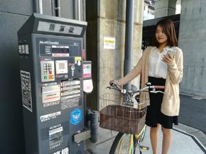 日本コンピュータ・ダイナミクスのQRコード決済対応の駐輪場精算システム