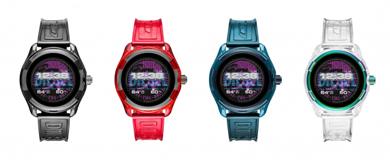 ディーゼルブランドのタッチスクリーンスマートウォッチ「DieselOn Fadelite Smartwatch」