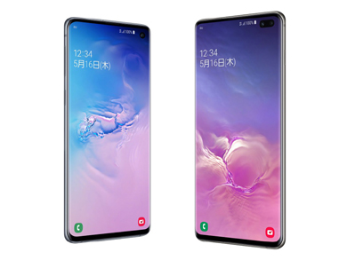 KDDIの「Galaxy S10 SCV41」「Galaxy S10+ SCV42」